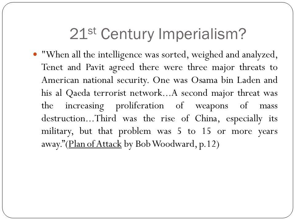 21 st Century Imperialism.