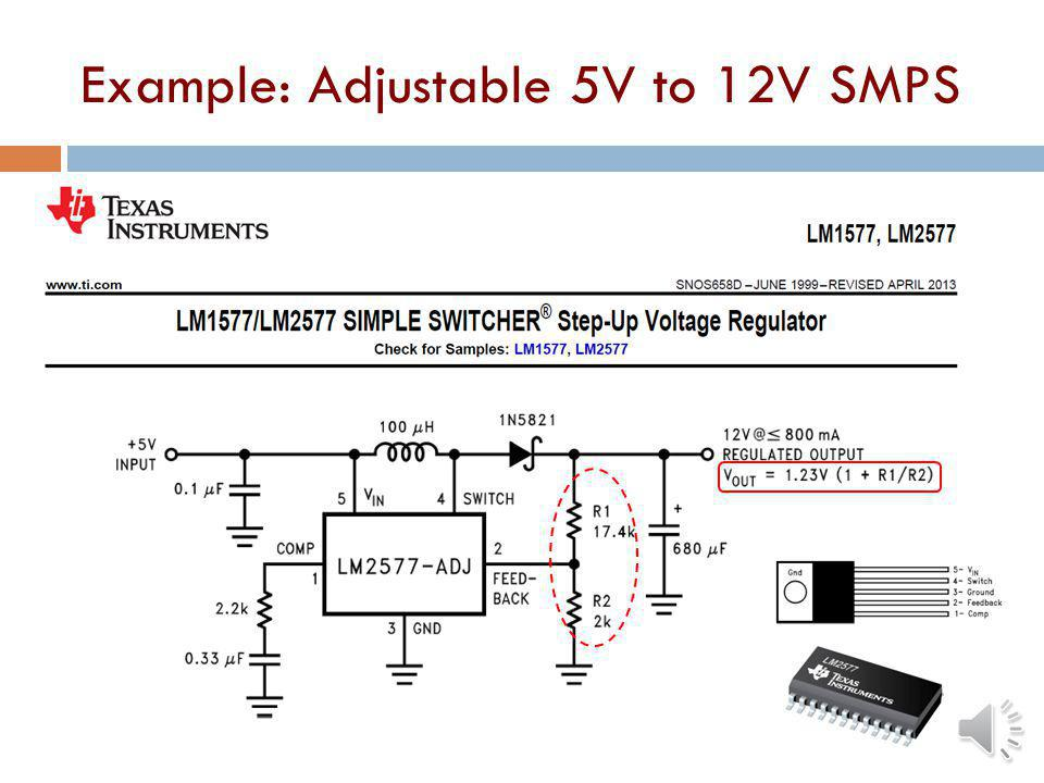 Off-Line Flyback Switching Supply Called off-line because the DC voltage to the switch is developed right from the AC line Feedback is usually opto-is
