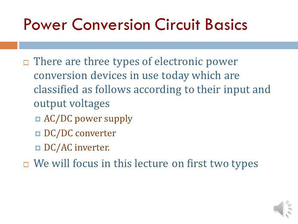 Recommended Reference Introduction to Power Supplies, National Semiconductors Application Note AN-556.
