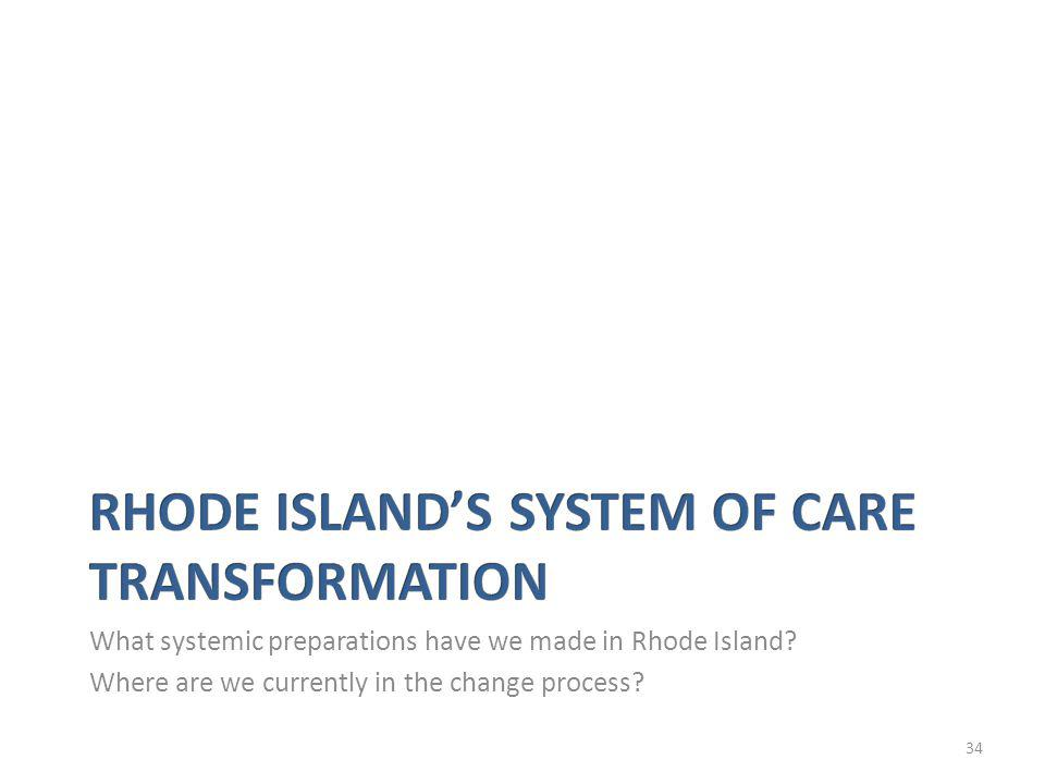 34 What systemic preparations have we made in Rhode Island.