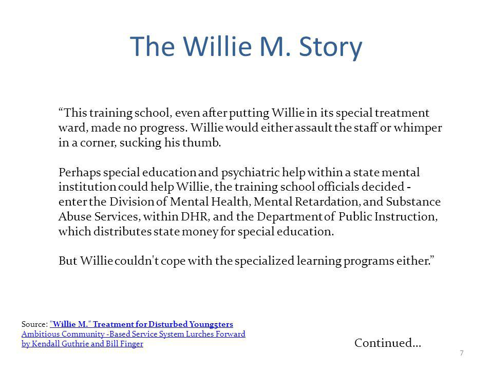 7 The Willie M.
