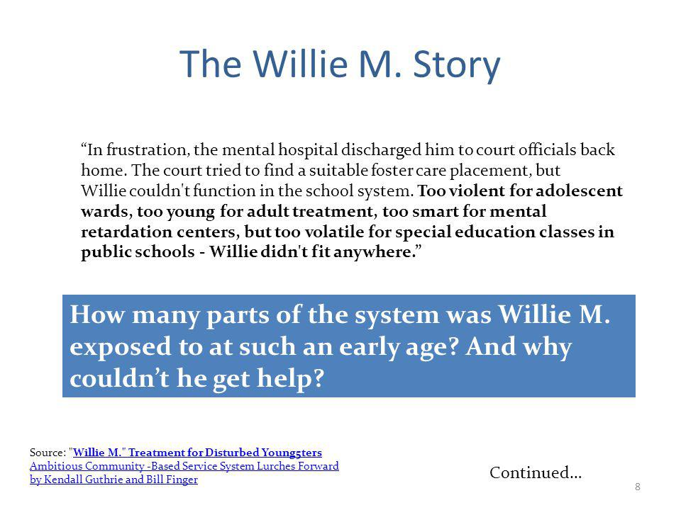 8 The Willie M.