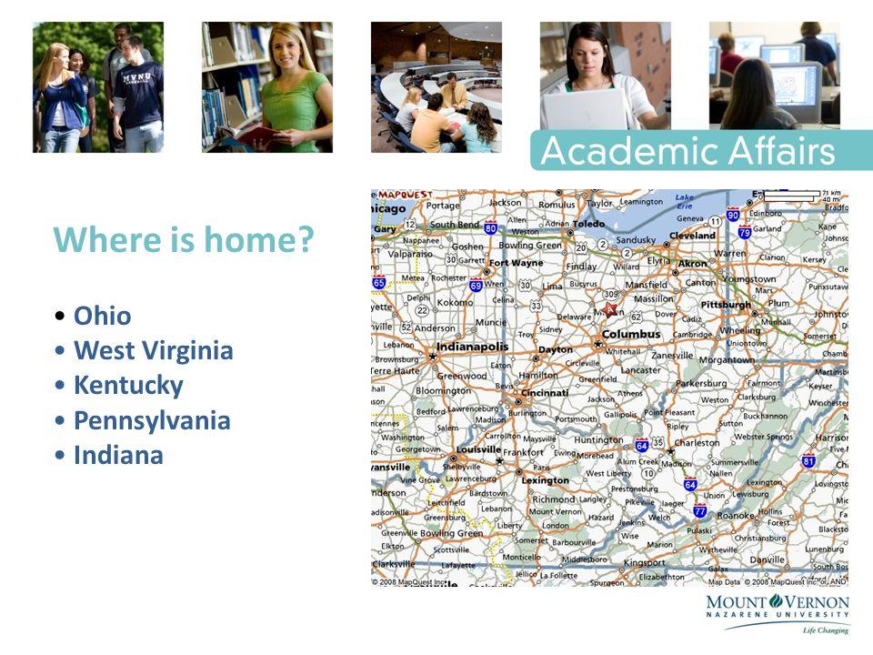 Where is home Ohio West Virginia Kentucky Pennsylvania Indiana