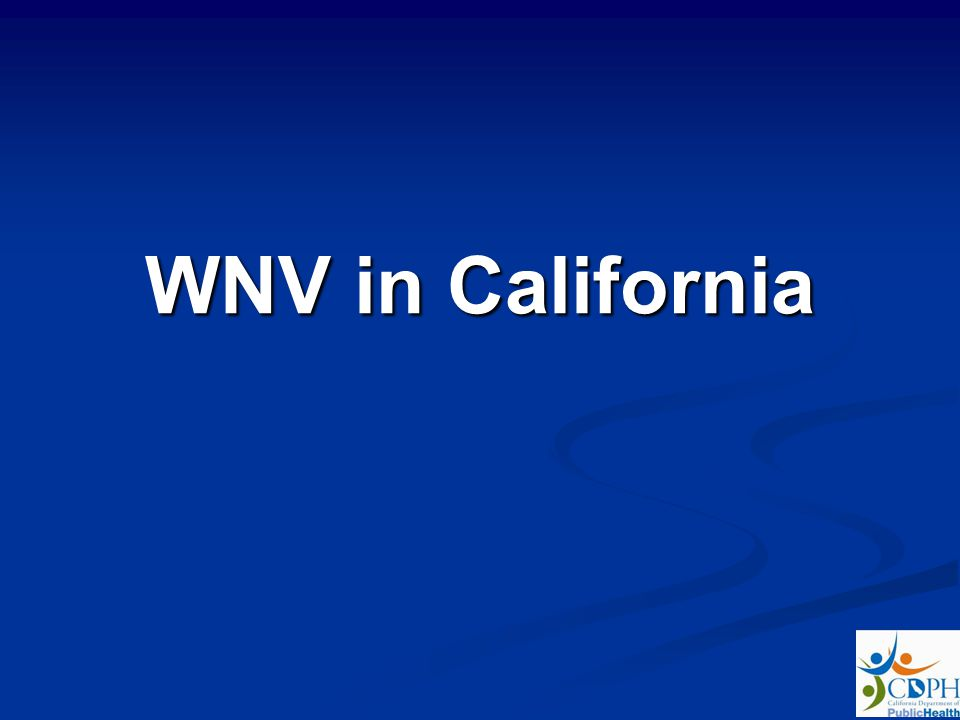 WNV in California