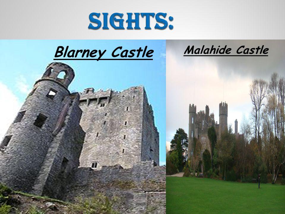 Blarney Castle Malahide Castle