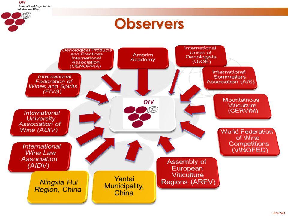 OIV 2012 Observers