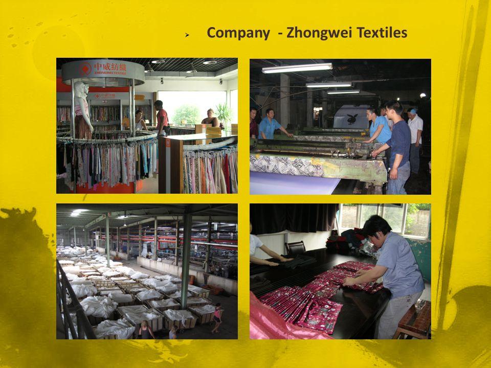 Company - Zhongwei Textiles
