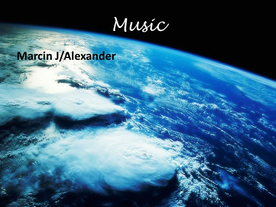 Music Marcin J/Alexander