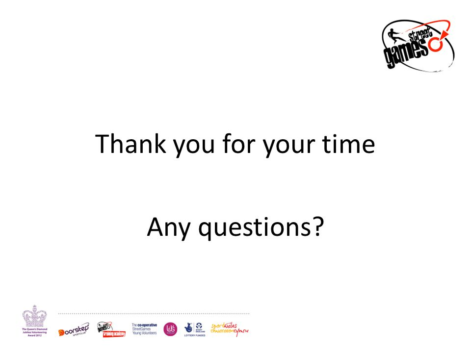 Thank you for your time Any questions?