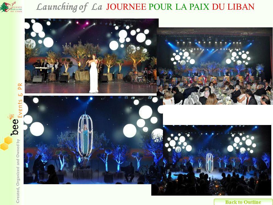 Back to Outline Launching of La JOURNEE POUR LA PAIX DU LIBAN
