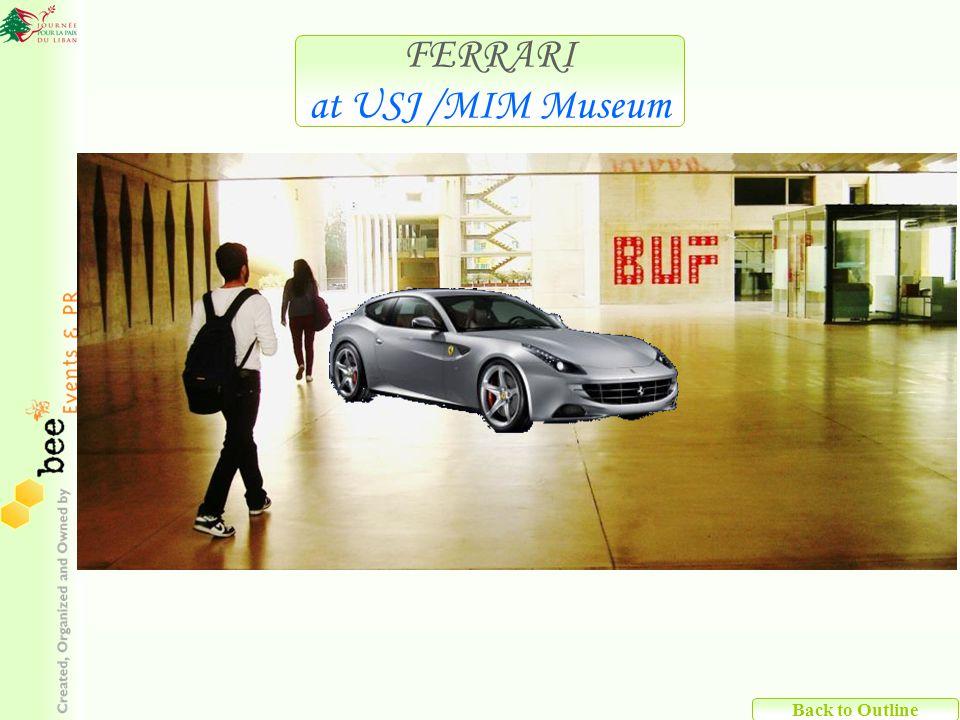 Back to Outline FERRARI at USJ /MIM Museum