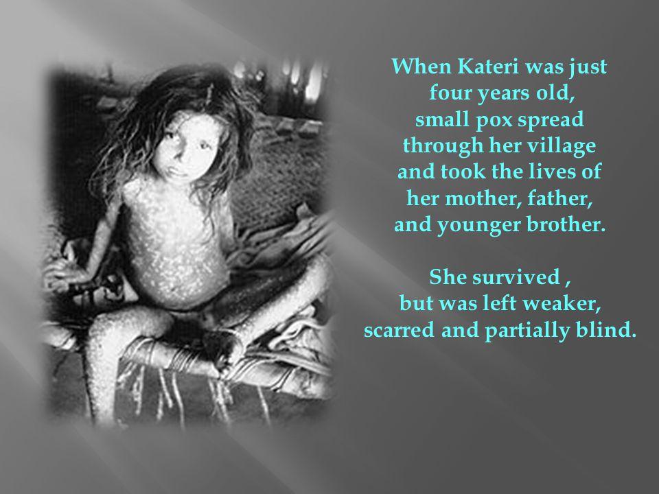 On Easter, April 5, 1676 twenty-year old Tekakwitha was baptized.