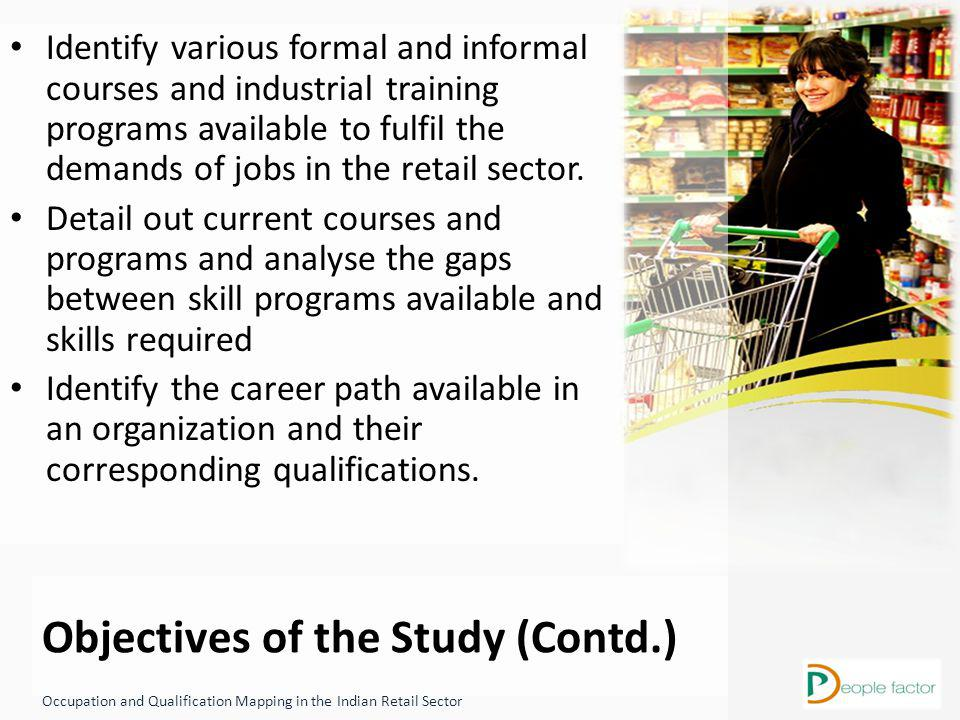 Qualification: Pursuing Graduation/ Graduate Work Experience: 3-7 Years Key Knowledge, Ability & Aptitude: - Leadership - Planning and Organizing Qualification: 10 th / 12 th Pass Work Experience: 0-1 years Key Knowledge, Abilities & Aptitude: Navigational Skills Manual Ability Math Ability Service Attitude Occupational and Qualification Mapping in the Indian Retail Sector Career Paths In Café & Restaurant Qualification: Graduate Work Experience: 5-10 Years Key Knowledge, Ability & Aptitude: - Eye for Detail - Problem Solving and Grievance Handling Ability Qualification: Pursuing Graduation/ Graduate Work Experience: 1-7Years Key Knowledge, Abilities & Aptitude: - Leadership - Planning and Organizing Qualification: 10 th / 12 th Pass Work Experience: 0-1 years Key Knowledge, Abilities & Aptitude: Clerical Ability Manual Ability Math Ability Qualification: Graduate in Hospitality/ Food Production Work Experience: 10-14 Years Key Knowledge, Abilities & Aptitudes: - Eye for detail - Problem Solving Ability Qualification: Graduate in Hospitality/ Food Production Work Experience: 6-10 Years Key Knowledge, Abilities & Aptitudes: -Leadership - Planning and Organizing Qualification: None/ 10th Work Experience: 0-1 Years Key Knowledge, Abilities & Aptitude: - Dexterity - Can work under pressure Trainee (Production) Stewards (Level 1) Delivery Supervisor (Level 2&3) Commi (Level 1) Chief Cook/ Chef De Parte (Level 2 & 3) Supervisor/ Asst.