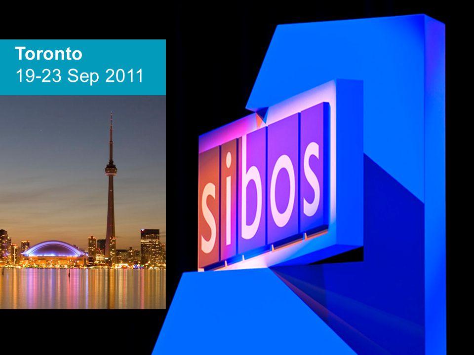 Toronto 19-23 Sep 2011