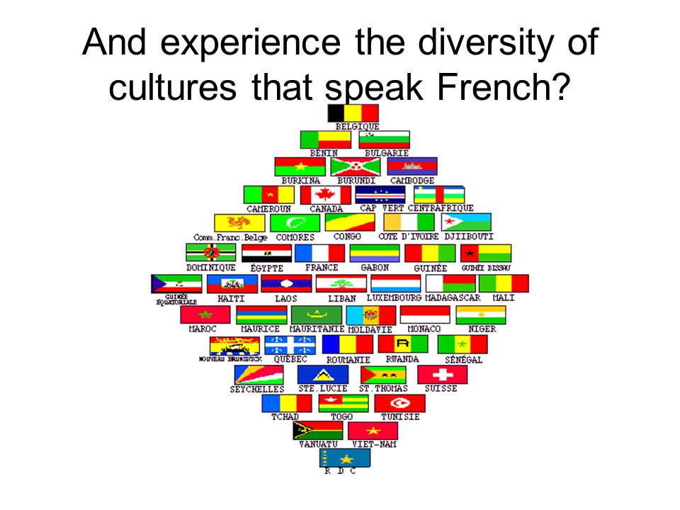 French The clear choice for all students.