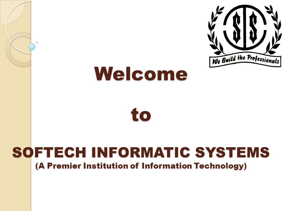 SOFTECH is authorized Learning Center for NIELIT & SITD