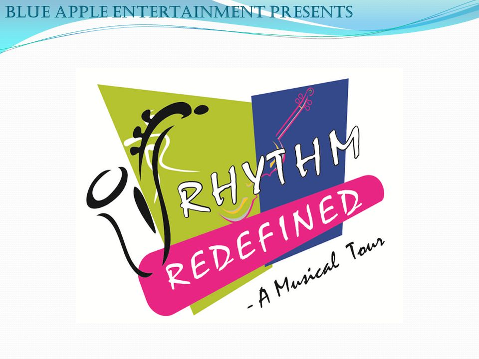 Rhythm redefined..Fill your day with love and laughter, If you cant have that, fill it with music.