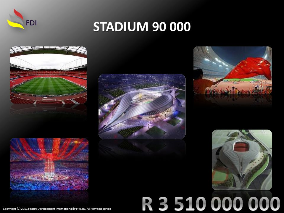 STADIUM 90 000 Copyright (C) 2011 Feasey Development International (PTY) LTD. All Rights Reserved