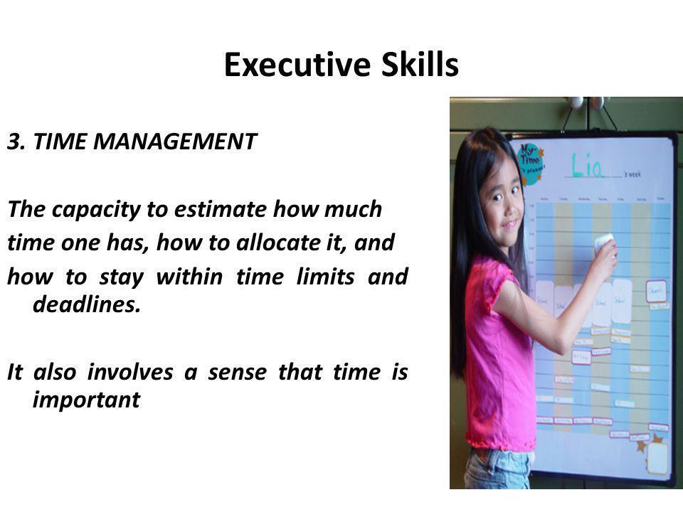 Executive Skills 3.