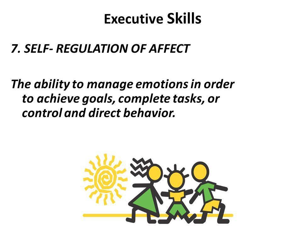 Executive Skills 7.
