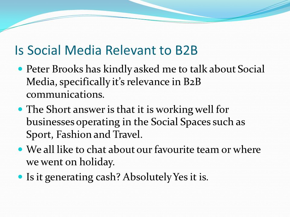 Implementing a Social Media Strategy See www.customer-relations.co.uk