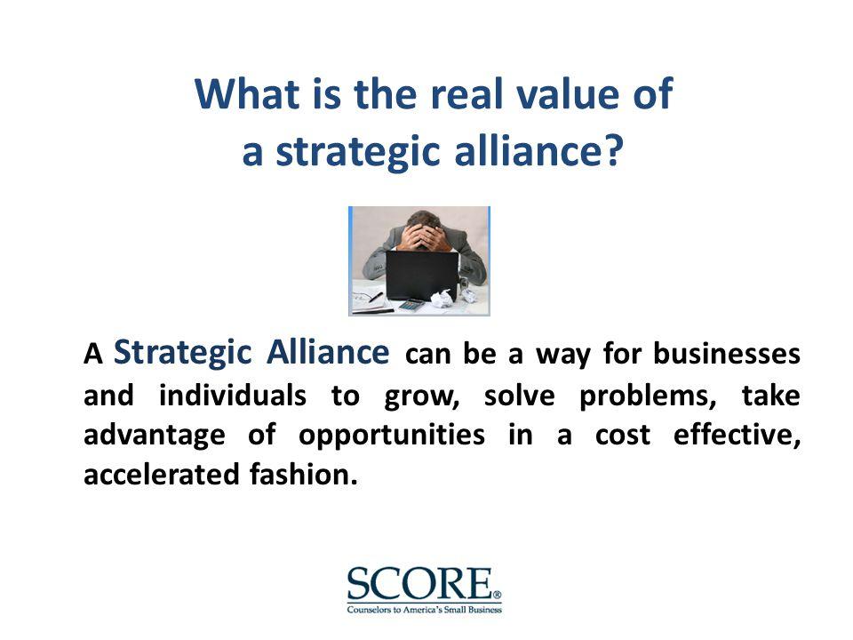 Strategic alliance dynamics Six common attributes of successful partnerships: 1.