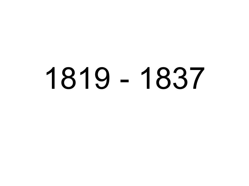 1819 - 1837
