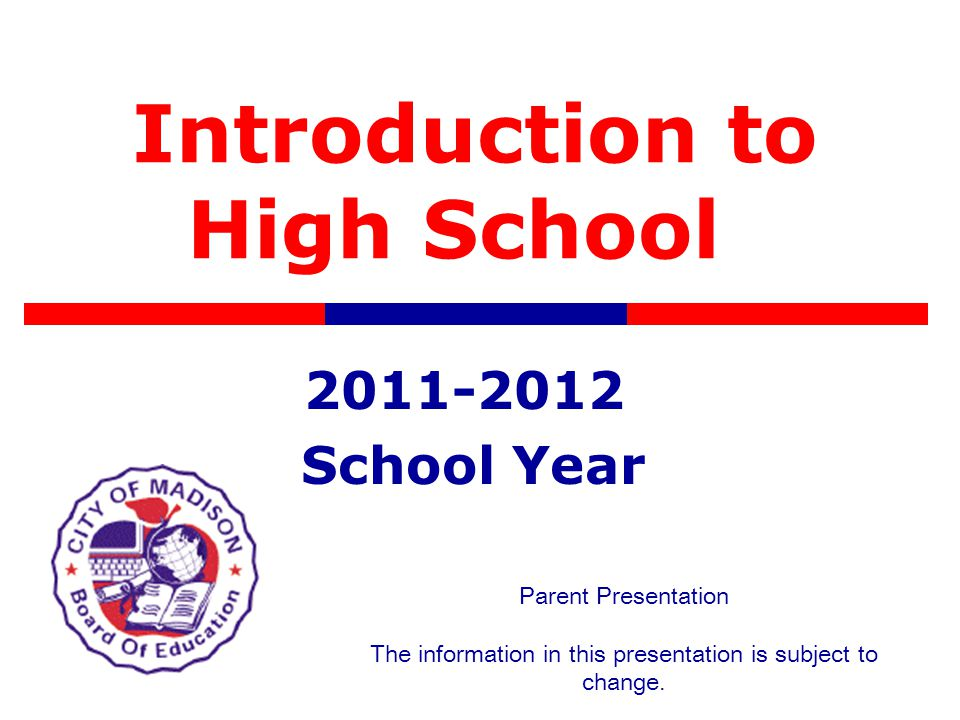 Important Parent Dates Individual Conferences will be held April 11- 19.