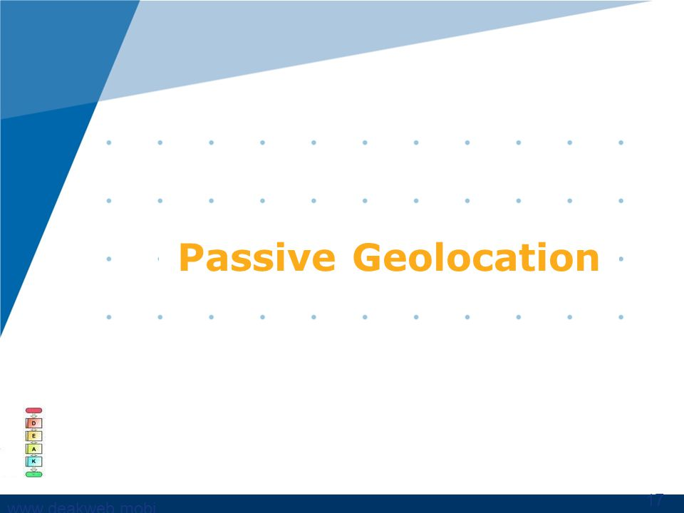 www,deakweb.mobi Passive Geolocation 17