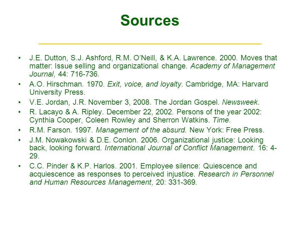Sources ______________________________ J.E. Dutton, S.J.