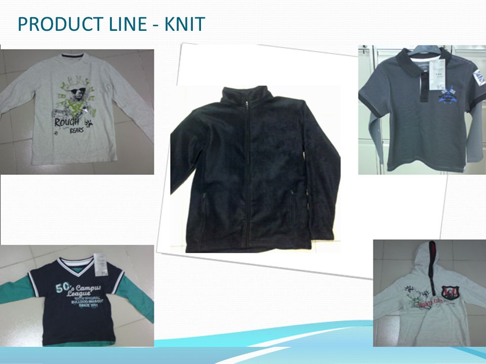 PRODUCT LINE - KNIT