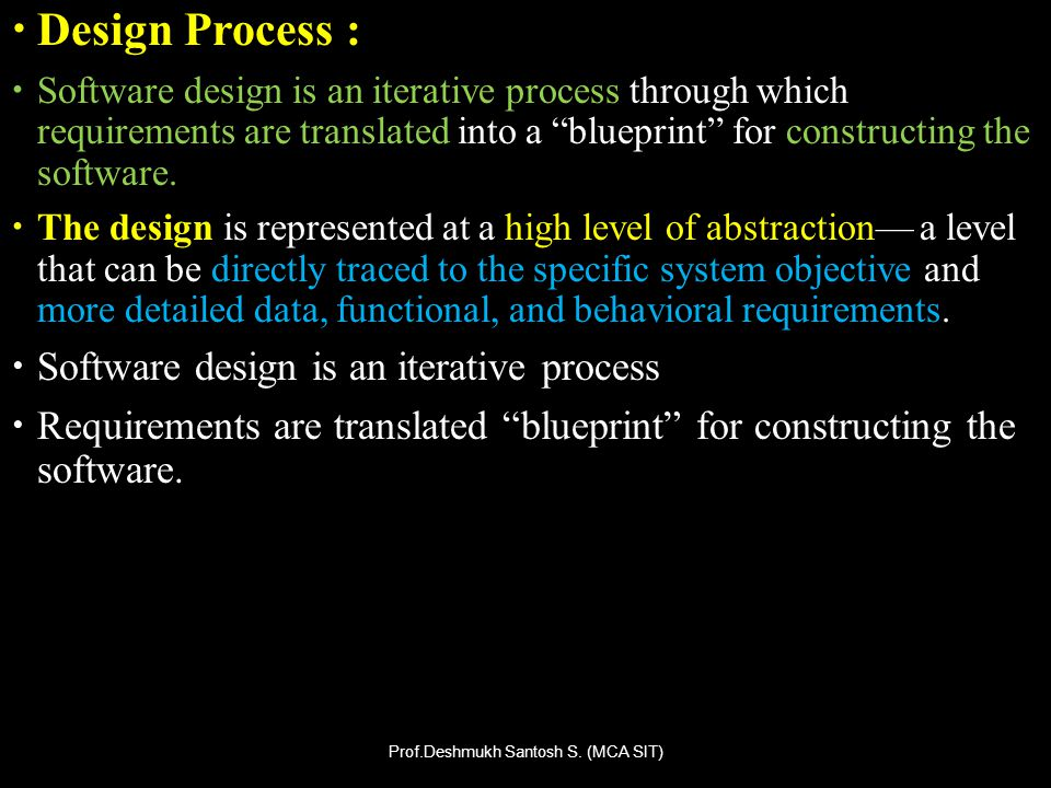 The data design describes structures that reside within the software.