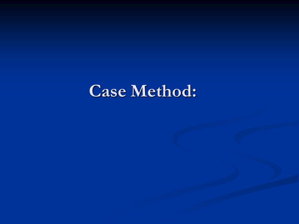 Case Method: