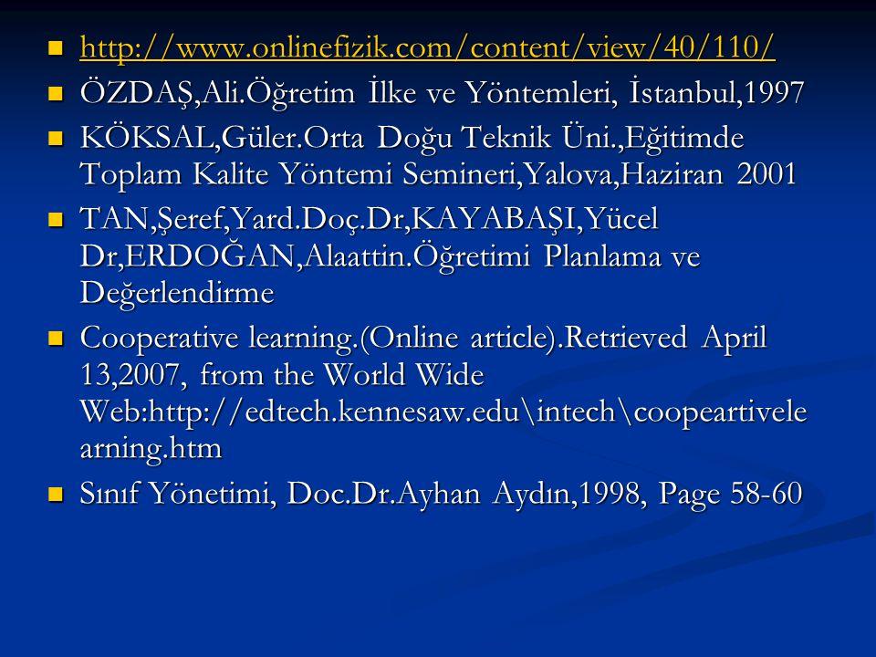 http://www.onlinefizik.com/content/view/40/110/ http://www.onlinefizik.com/content/view/40/110/ http://www.onlinefizik.com/content/view/40/110/ ÖZDAŞ,