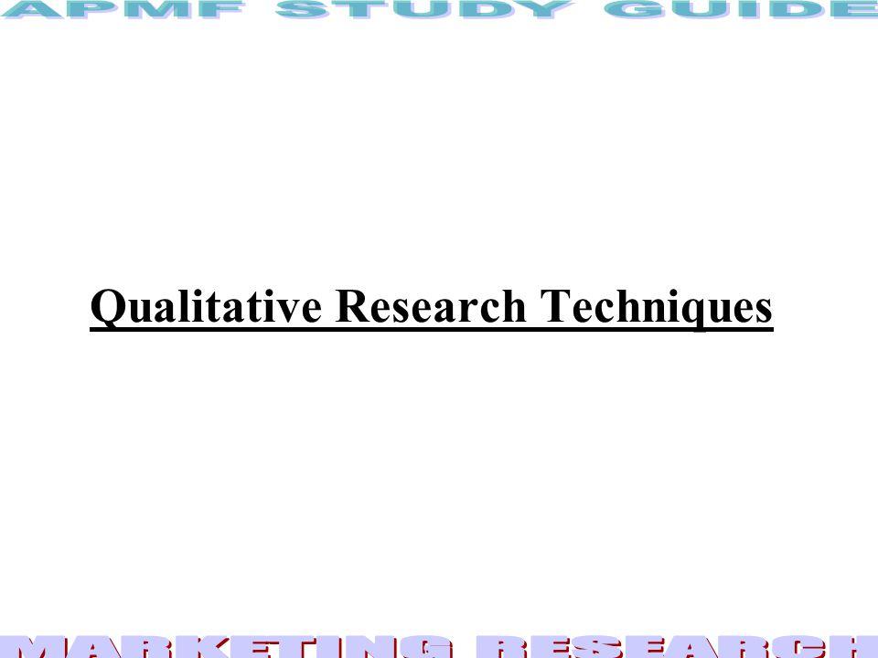 2 Qualitative Research...