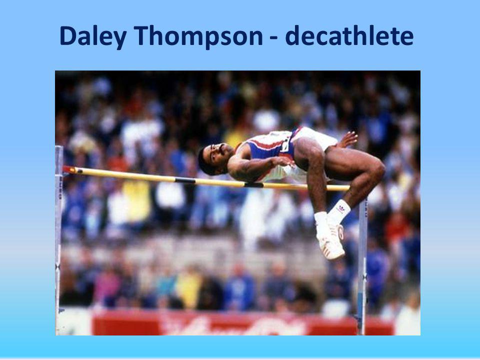 Daley Thompson - decathlete