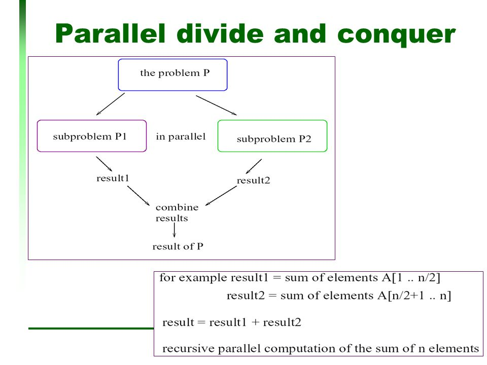 13 Parallel divide and conquer