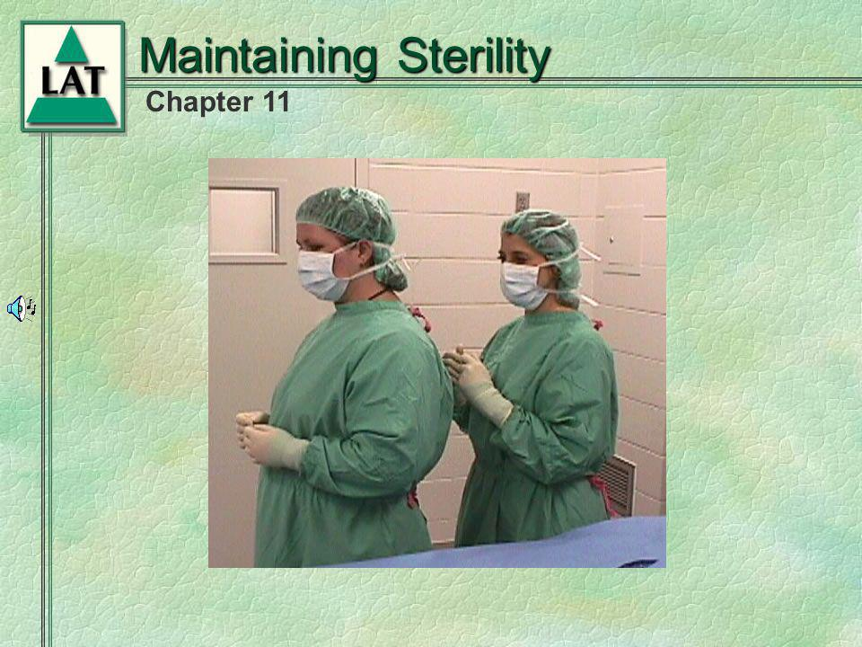 Chapter 11 Maintaining Sterility