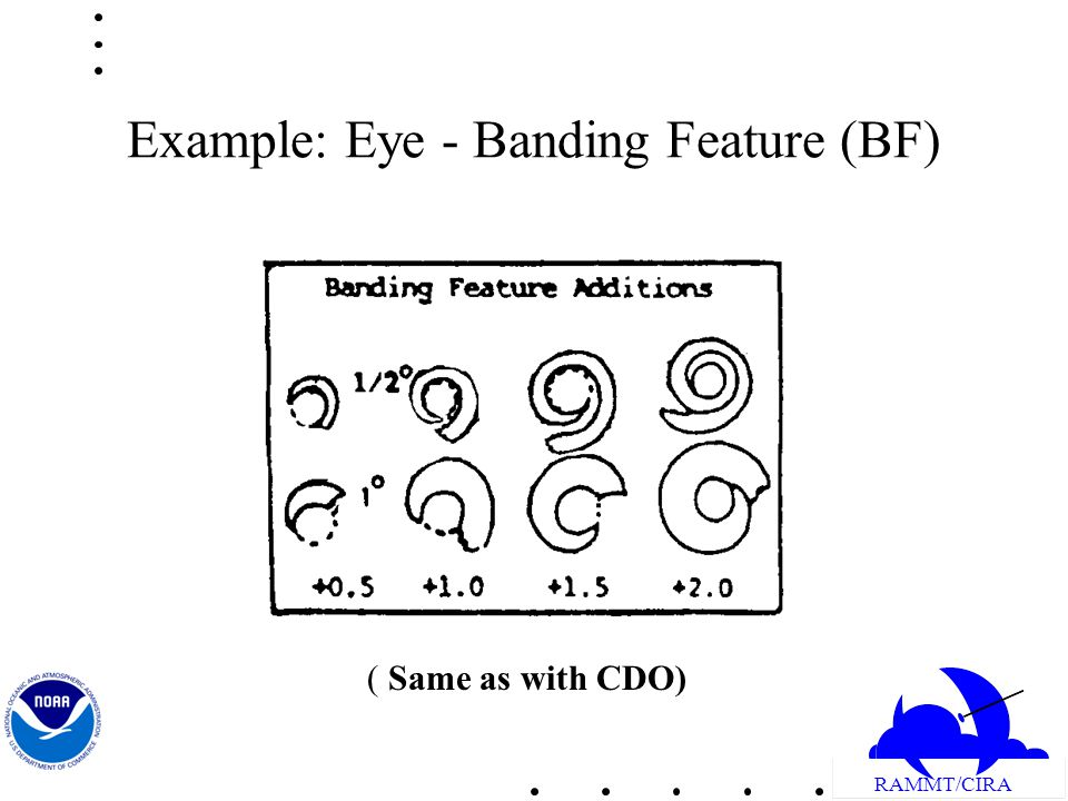 RAMMT/CIRA Example: Eye - Banding Feature (BF) ( Same as with CDO)