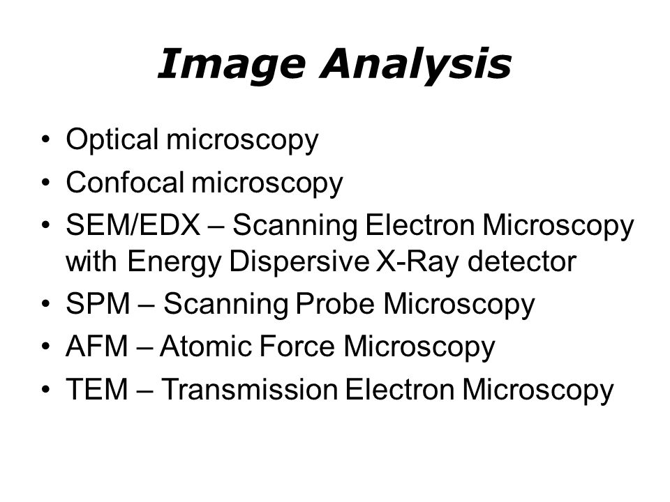 Surface Analysis AES – Auger Electron Spectroscopy XPS – X-Ray Photoelectron Spectroscopy TOF-SSIMS – Time of Flight Static Secondary Ion Mass Spectroscopy LEED – Low Energy Electron Diffraction