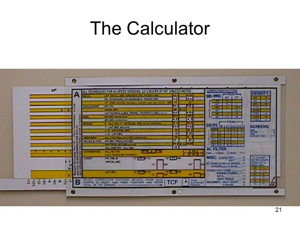 21 The Calculator
