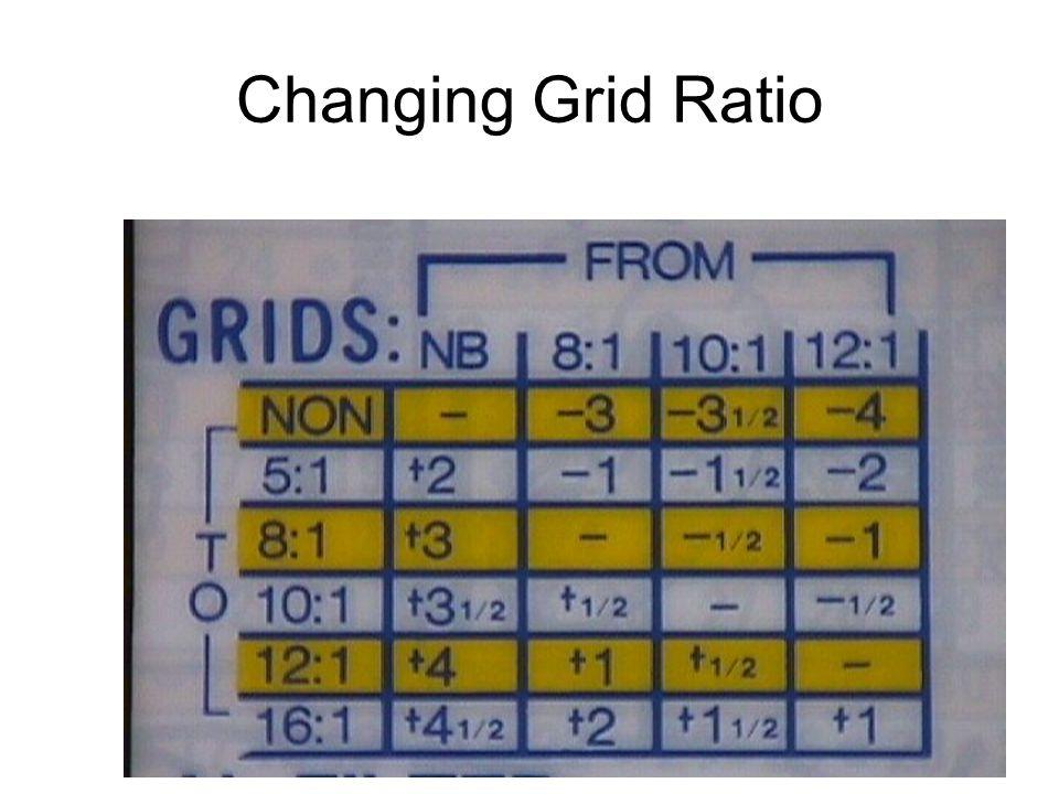 34 Changing Grid Ratio