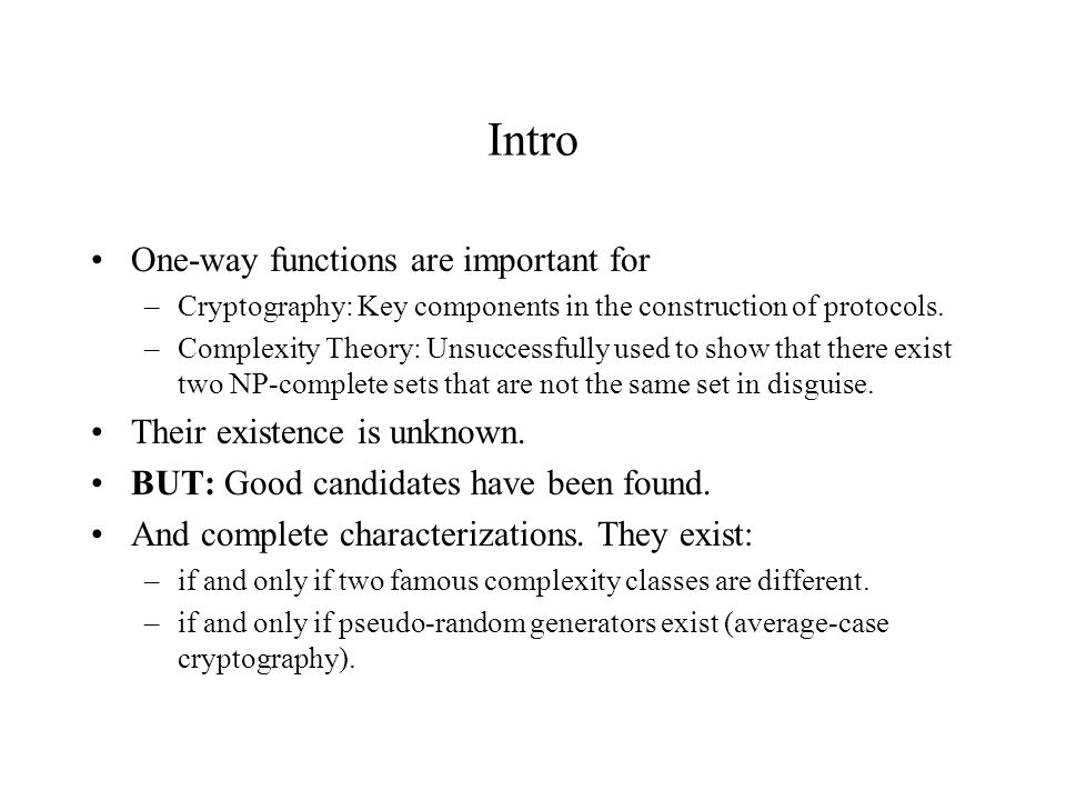 Proof: Assume f is a one-way function.Let p be the honesty polynomial for f.