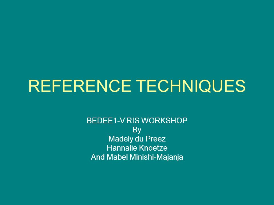 CITING A THESIS ACTIVITY Household participation in domestic waste disposal and recycling in the Tshwane Metropolitan Area An environmental education perspective By Agnes Jonton Kamara M.Ed Thesis University of South Africa 2006