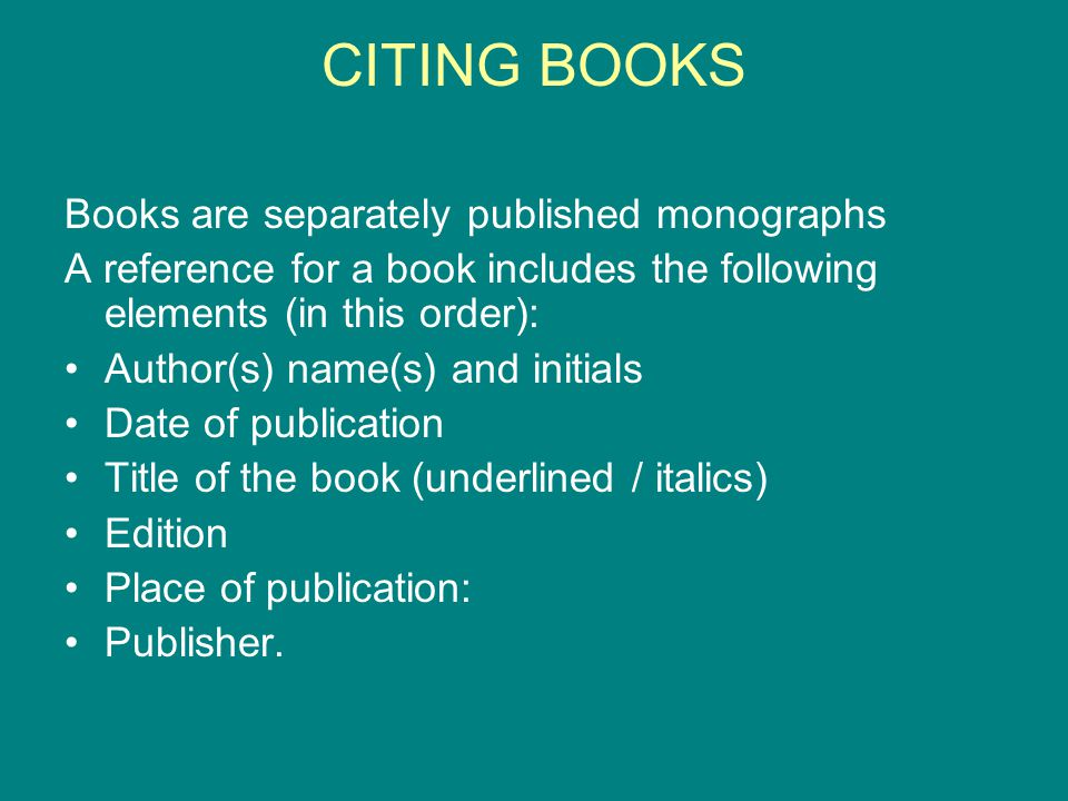CITING BOOKS Title page Finding your way in QUALITATIVE RESEARCH Elizabeth Henning With Wilhelm van Rensburg And Brigitte Smit Van Schaik Publishers