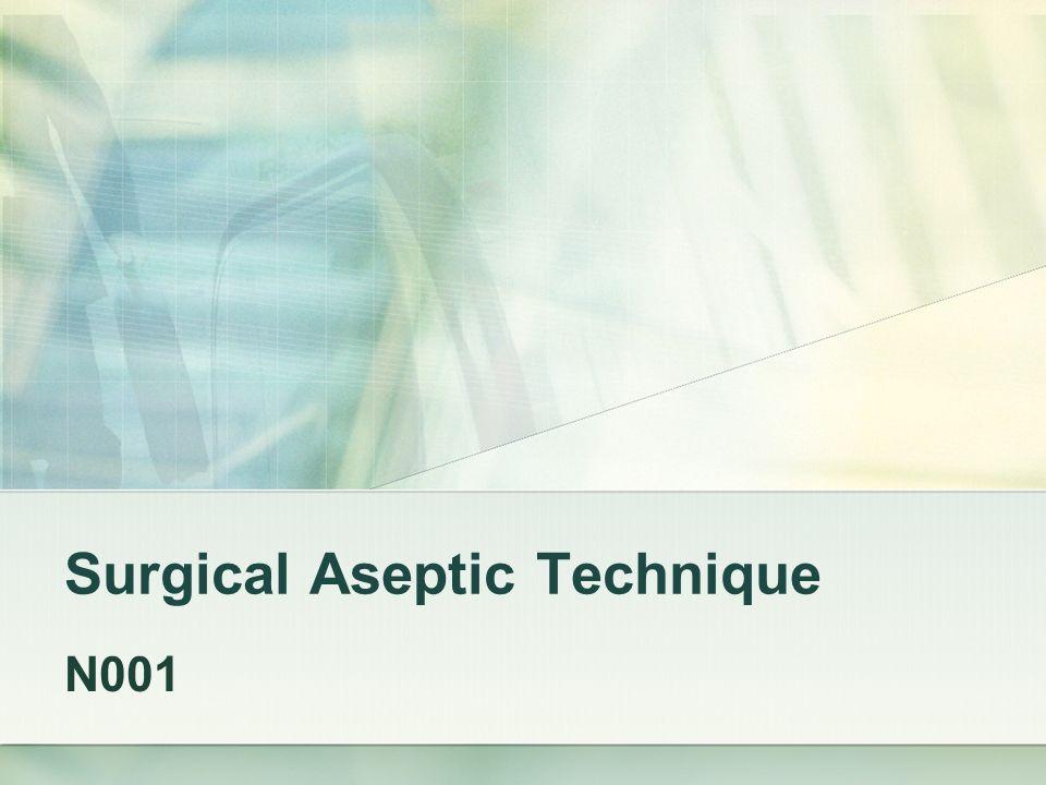 Adding Sterile items to a sterile field