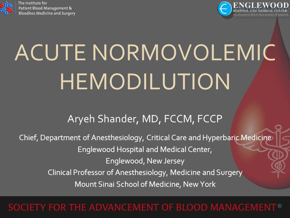 Intraoperative – ANH Effectiveness of acute normovolemic hemodilution to minimize allogeneic blood transfusion in major liver resections Liver resection – at least 30% transfusion requirements Prospective, randomized N = 78 ANH to target Hct 24% vs.
