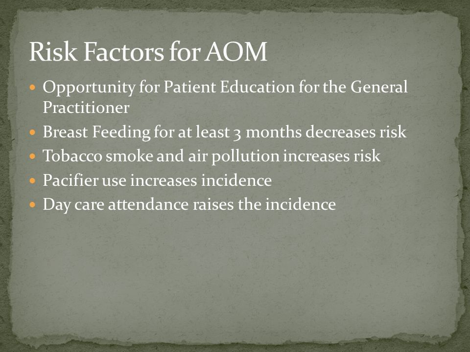 What is the most sensitive diagnostic tool for diagnosing AOM.