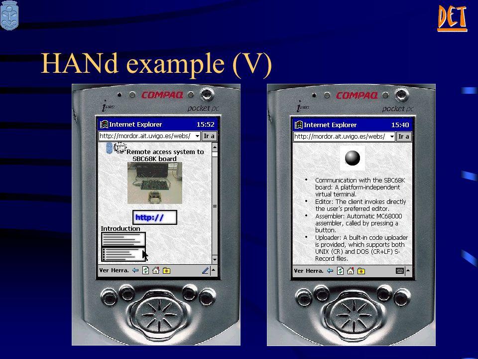 HANd example (V)