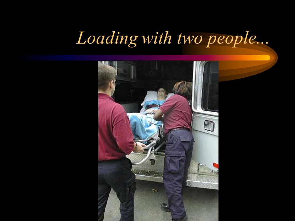 Loading with two people...